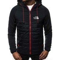 Erkek Giyim Parça Takım Elbise Erkek Giyim Hoodie Kuzey İlkbahar / Yaz Ceket Rahat Kazak Uzun Kollu Fermuarlı Hoodie X0710