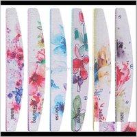 Fichier Nail Professionnel Fleur Tableau à ongles Nail Polonais Paçonneuse Nail Art Pédicure Outils Salon Sander Accessoire VOPNN D7JSF