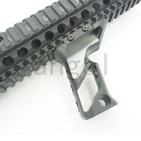 Accesorios Picatinny Rail 20 mm Mlok Grip Metal CNC Light Duty Hollow 18 Táctico Disparo Mano Mano