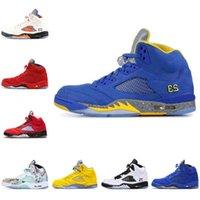 2021 Novo fogo vermelho 5s homens sapatos de basquete 5 top 3 uva aqua camurça azul vermelho sala de troféu laney oreo asas dos homens ars ao ar livre tênis esportivos f52