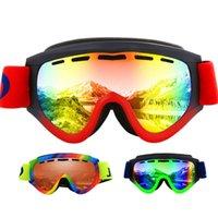 Jiepolly Солнцезащитные очки Очки Очки лыжи лыжи Взрослые Мужчины UV400 Катание на коньках Сноуборд Гафас Женщины Очки Велоспорт Рамка лыжный снег occhiali Rxjna