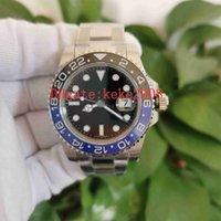 BP Factory Top Quality Watches Classic 40mm Batman 116710 116710BLBR Stainless 316L Ceramic Bezel CAL.2813 Movement Automatic Mens Watch Men Wristwatches