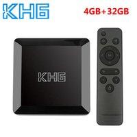 Mecool KH6 Smart Set Top Box Android 10 TV Box 4GB RAM 32GB ROM Allwinner H616 2.4G 5G WiFi 4K HD Bluetooth Vs H96 MAX