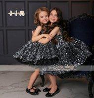 لطيف الرضع الفتيات فساتين طفلة الركبة اللباس مطرزة الاطفال ملابس أول عيد ميلاد خاصة AG0433
