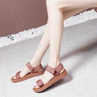 sandal Leisure sports summer versatile Velcro flat student pregnant sandals women trend