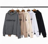 Erkek ve Bayan Hoodies Eğlence Moda Trendleri Tanrı Korkusu Sis Essentials Erkekler Kadınlar Tişörtü Tasarımcı Eşofman S4UT #