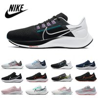 Nike Air Zoom Pegasus 38 Mevcut Erkek Kadın Koşu Ayakkabıları Kelly Anna Londra Flyase Beyaz Siyah Flaş Crimson Midnight Navy Açgözlü Açık Spor Sneakers