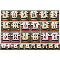 007 Vintage New York Islanders Jerseys 30 GARTH SNOW 94 Ryan Smyth 12 CHRIS SIMON 28 FELIX POTVIN 7 STEFAN PERSSON 27 PECA 3 CHARA Retro Hockey