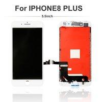 Cep Telefonu Dokunmatik Paneller LCD Ekran Digitizer Meclisi iPhone 8 Artı Yedek Onarım Parçaları Sınıf A +++