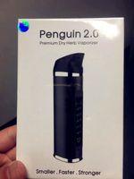 100 % 오리지널 황제 펭귄 2.0 비전 기화기 건조한 허브 기화기 펜 검은 만바 와이드 증발기보다 낫다