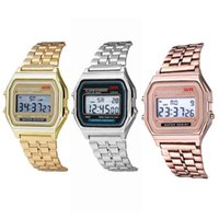 Designer luxury brand watches l Strap e Rose Gold Women Men Business Clock Multifunction LED Sports Digital Erkek Reloj Relogio