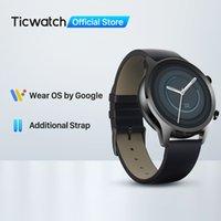 Designer Luksusowa marka Zegarki Tic C2 Plus Nosić OS Smart 1 GB RAM Wbudowany GPS Fitness Tracking IP68 Wodoodporna NFC Google Pay Kobiet