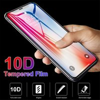 10D Protective Tempered Glass For iPhone 12 11 13 Pro Max Mini Full Cover Screen Protector For iPhone 6 7 8 Plus XR X XS Glass