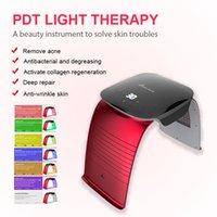 Portable 7 Colors LED Facial Mask PDT Light Therapy Beauty machine Face Skin Rejuvenation salon equipment