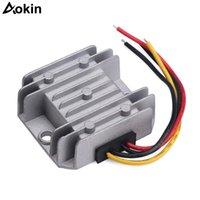 Circuitos integrados 12 voltios Regulador impermeable sincrónico DC-DC Convertidor Buck 5-32V a 1-27V TABINA DE FUENTE DE ALIMENTACIÓN VIPTABLE DE VOLTAJE