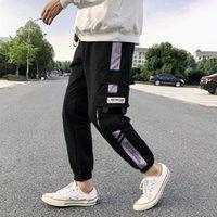 NOUVEAU Pantalon de loisirs de Loisirs Mode Big Pocket Street Tendant Mens Pantalon lâche Hommes Pantalon long Pantalon Hip Hop Sports Pantalon Taille S-3XL