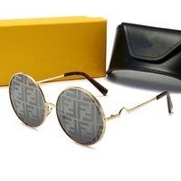 2021 Fendi Marke Design Cat Eye Polarisierte Sonnenbrille Männer Frauen Dame Elegante Sonnenbrille Weibliche Luxus Fahren Eyewear oculos de sol # 14