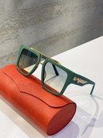 1009 نظارات شمسية غطاء الإشعاع حماية الأزياء الأمريكية أعلى جودة عالية الماركات الأصلية مصمم نظارات نظارات رجالي للمرأة النظارات الفاخرة