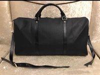 Высокое качество Мужская Duffle Bag Brown Black Happall 55 Качество Моно Багаж Грамба Мешок Путешествия Мужчины Женщины Жираф с Замком Новый K95Y #