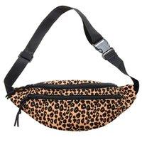 Waist Bags Leopard Corduroy Bag Heuptasje Chest Fanny Pack Side For Women Riñonera Niña Bolso De Pecho Sac Femme Bandouliere
