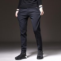 Men's Pants 2021 Autumn And Winter Thickened Plus Velvet Casual Quick-drying Sports Trend Trousers Men