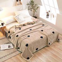 Blankets Winter Thicken Baby Adult Scarf Ferret Cashmere Warm Brand Fleece Soft Throw On Sofa Bed Plane Travel Plaids Blanket