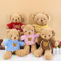 30cm Lovely Soft Teddy Bear Plush Toy Stuffed Animals Playmate Soothing Doll PP Cotton Kids Toys Valentine Day gift MS23