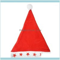 Decorations Festive Party Supplies Home & Gardenpractical Boutique Santa Hat With Flashing Lights Adult Size - Light Up Christmas Hat1 Drop