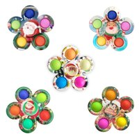 Fidget Toys Simple Dimple Fidgets Spinner Spinning Top Anti-stress accessories Autism and stress relief for anxiety