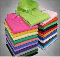 2021 Sıcak Lüks Gömlek T-shirt Küçük At Timsah Nakış Giyim Erkekler Kumaş Polo T-shirt Yaka Rahat T-shirt Tee Gömlek Tops