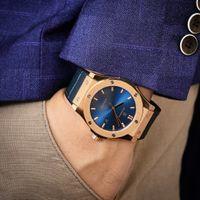 Klassische Fusions-Serie Automatische Armbanduhren Mechanische Mann Watchhand montre de luxe 316 Edelstahl 2813 Bewegung Freizeit luxuriöse Männer erste Wahl
