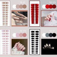 False Nails Press On Manicure Tool Nail Tips Full Cover Fake Wearable With Glue Medium Square Head