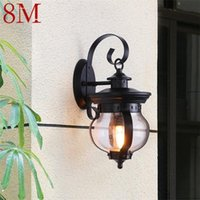 Outdoor Wall Lamps 8M Retro Light Classical Sconces Lamp Waterproof IP65 LED For Home Porch Villa