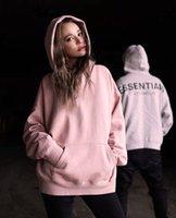 Designer essential hoody mens essentials hoodie sweatshirts sportwear hoodies pullover womens hip hop sweater women men cotton FOG pink ESS streetwear long sleeve