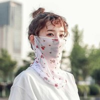 Sonnencreme Schleier Frauen Sommer Atmungsaktive Cover Gesicht Eis Dünne Spitze Reiten Sunshade Hals Maske
