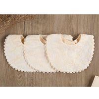 Bibs & Burp Cloths Embroidery Fashion Baby Bib,Baby Girls Born Floral Princess Cotton Bandana Feeding Saliva Towel