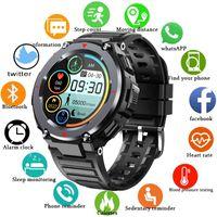 Gejian 2021 New Smart Watch Smartwatch Men Full Screen Touch Blood Pressure Heartbeat Meter Bluetooth Call Music Player