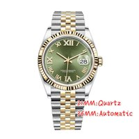 U1 AAA +高品質36mmレディース腕時計2813自動運動ステンレス鋼の女性/男性ウォッチ防水腕時計発光モントルデラックスギフト