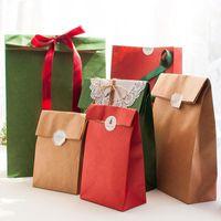 Gift Wrap Year Bag Handbag With Paper Creative Shopping Box