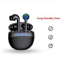 TWS Bluetooth наушники беспроводные наушники 9D стерео на открытом воздухе носимые водонепроницаемые наушники наушники с зарядной коробкой