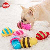 Dog toy slippers sound molars anti bite puzzle artifact puppy teddy bear miniature dog pet products81BM