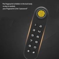 Keyless Fingerprint Password Drawer Office Cabinet Electronic Coded Lock Smart Finger Print Door Doorbells