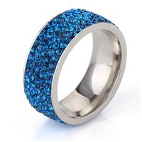 Wedding Rings European And American Fashion Street Men's Ring Trend Boy Stainless Steel Hundred Matching Accessories