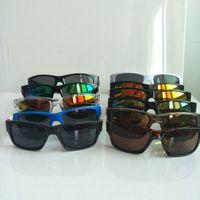 Летние спортивные очки велосипедные солнцезащитные очки 11 цветов Большие солнцезащитные очки спортивные велосипедные очки мода ослепляет цвет зеркал 9135