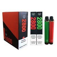 Puff Flex Cigarrillos electrónicos 2800 Puffs Vape desechable PEN 1500 MAH Batería Vapores originales al por mayor