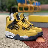 Lightnings Good quality 4s Basketball Shoes Men Topsportsmarket Jumpman Size News Women With Box Sneakers Mens Outdoor 4 7-13 Fntvo