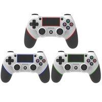Vibration double Vibration double Vibration de Joystick de deux couleurs Dual Vibration à 6 axes sans fil pour Playstation Sony PS4 Controller