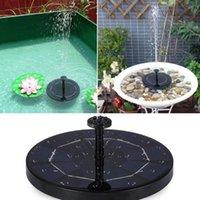 Fonte Solar 1W / 1.5W / 2.7W Mini Pool Pond Painel Flutuante Decoração de Decoração de Água Decoração de Água