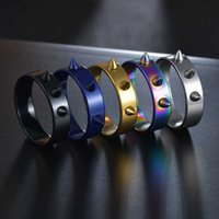 5 Colors Fashion Self-defence Rvs Punk Style Men and Women Doorn Jewellery Accessories Thumb Ring Tool