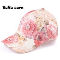 Yoyocorn mujeres mariposas flor bordado gorras mujeres niña sol sombreros casual snapback gorras mujeres béisbol gorra invierno otoño
